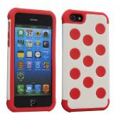 2 Piece Hybrid PC Silicone Back Cover Case for iPhone5