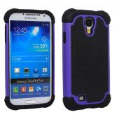 2 Piece Hybrid Rugged Hard PC Soft Silicone Back Case Cover For Samsung S4