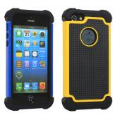 2 Piece Hybrid Rugged Hard PC Soft Silicone Back Case Cover For iPhone5